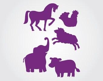 Animals Galore Stencil
