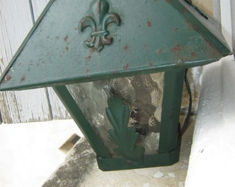 French Vintage Porch Light