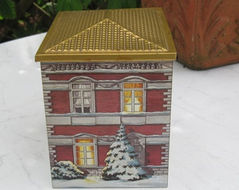 Tin House red with Golden Roof
