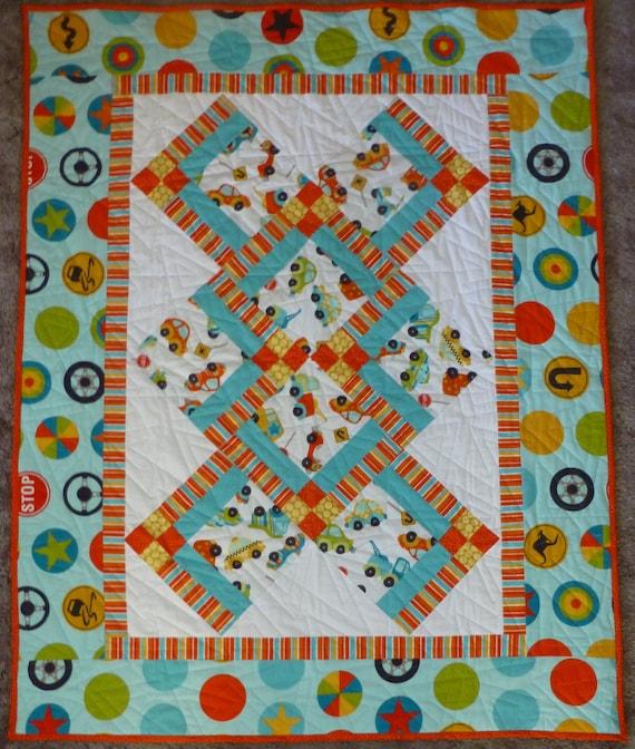 Baby quilt carscrib quilt floor quilt 41 x for Floor quilt for babies