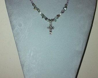 Twilight Cross Necklace