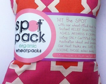 Heat Packs - with removable/washable cover 40cm x 17cm