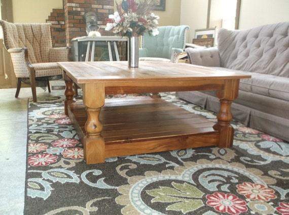 48 x 36 rustic coffee table reclaimed wood coffee by for Coffee table 48 x 36