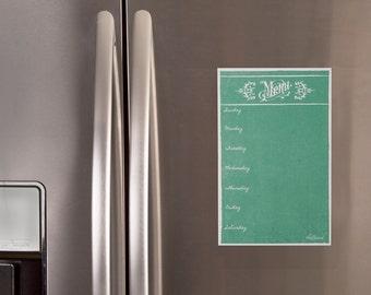 Menu Chalkboard,  Menu,  Menu Planner,  Menu Weekly, Chalk Board Menu