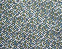 Fabric Cotton fabric Small print fabric Flower print fabric Scandinavian Fabric Scandinavian design
