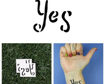 I Concur  - Temporary Tattoo (Set of 2)