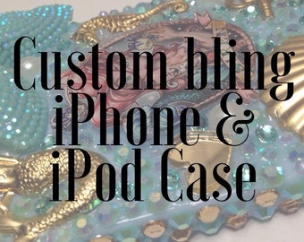 Custom iPhone/iPod Bling Case