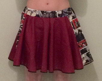 Walking Dead Circle Skirt