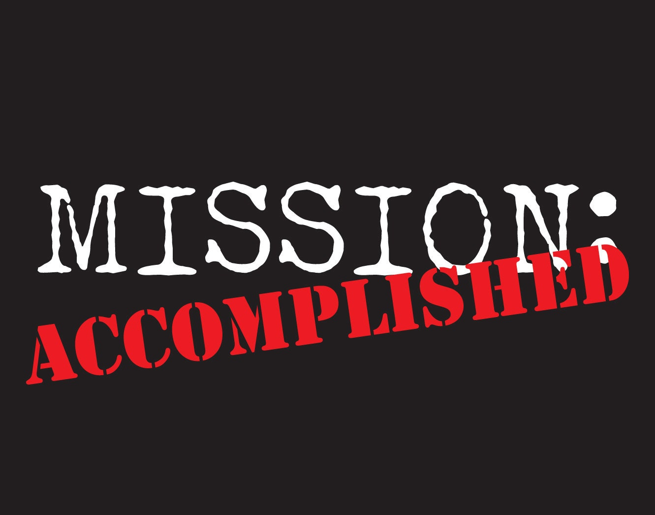Mission Accomplished Missionary Poster Return Missionary