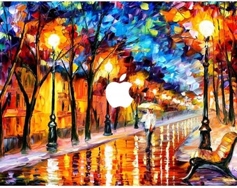 Top Cover Autumn Alley For Apple Macbook Pro 13 Model  A1278 Protector Skin Decal Wrap