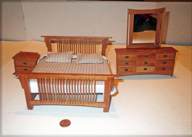 vintage discontinued bespaq miniature dollhouse mission
