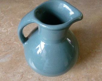 Blue Speckled Pitcher, California Pottery?