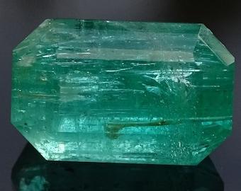 Faceted Emerald, Australian Natural Emerald, Green Emerald, Natural Emerald Gemstone , Emerald / Stunning Gems