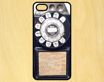 Vintage Payphone iPhone 4/4S 5/5C 6/6+ and Samsung Galaxy S3/S4/S5 Phone Case