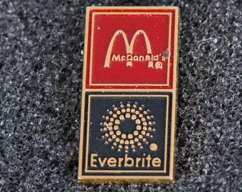 Mcdonald's Eventbrite Collectible Tack Pin