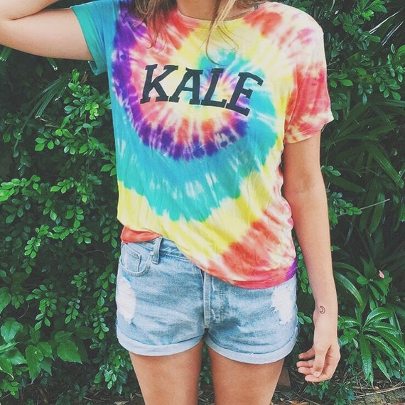 Tie Dye Shirts With Beads Tumblr