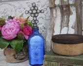 Cross Bottles | Altered Bottles | Adorned Bottles | Decorated Bottles | Soldered Bottles | Religious | Bottle Art | Crystal Cross Bottles