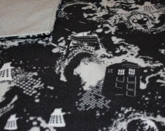 Doctor Who Fleece Blanket