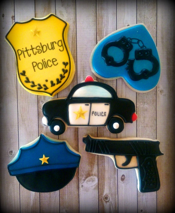 Police Decorated Cakes
