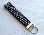 Key Fob Wristlet with Bla...