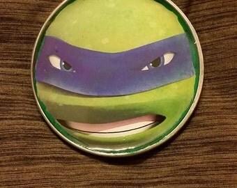 Teenage Mutant Ninja Turtles Stainless Steel Belt Buckle **READY TO SHIP**