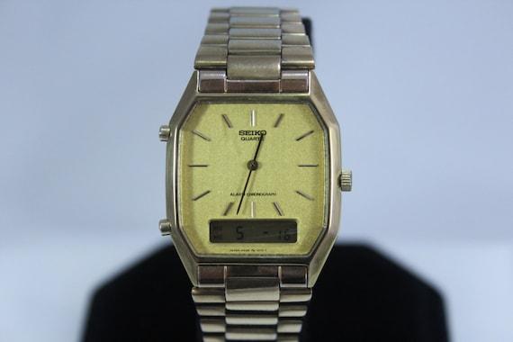 genuine vintage 1970 seiko analog digital h 448 5069