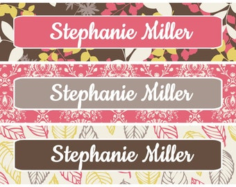 Personalized Waterproof Labels Waterproof Stickers Name Label Dishwasher Safe Daycare Label School Label - Beautiful Stephanie