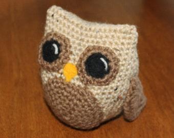 Easy Crochet Owl pattern