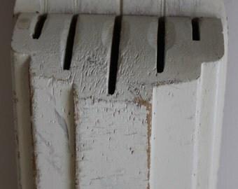 NUWAY wooden Kitchen Knife Holder, 5 slots