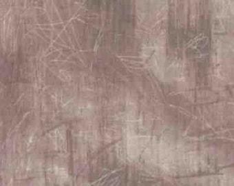 RIVERWOODS ShoreLine Cement Wall Stone Tan Grey Fabric by Marcia Derse 1 yd BTY