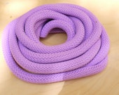 Lilac Climbing cord ,Braided Cord,Rope semisoft, 10mm approximately, 92cm/1yard