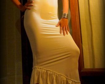 Backcross Laceup Raffle Dress
