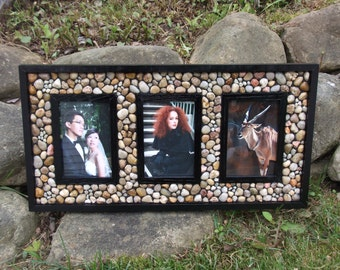 Traditional Triple 4x6 Picture Frame