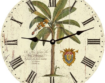 Palm Tree Clock