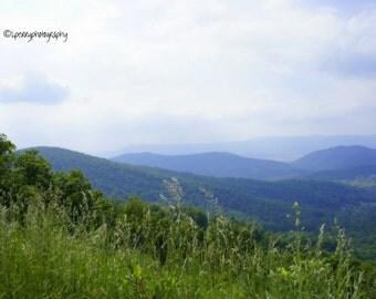 Virginia Mountains Photographic Print