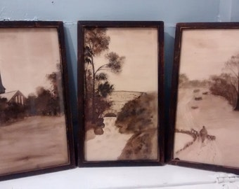 Sale, Antique, Pictures, Art, from Gimbel Brothers Furniture