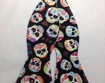 Dia de los muertos Self Tie Bow tie