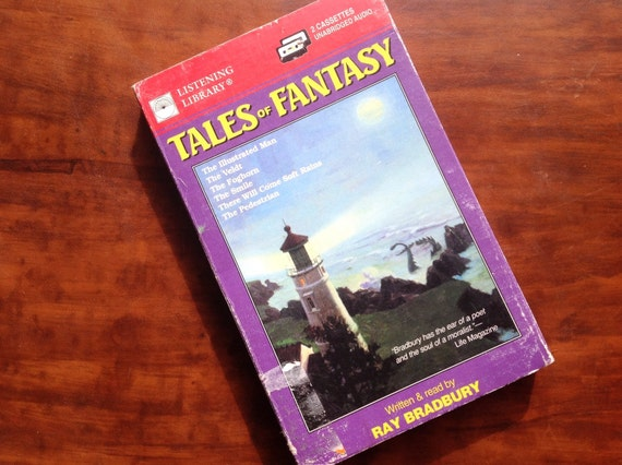 "Ray Bradbury's ""Tales of Fantasy"" 2-cassette set. Read by the author! Science fiction & fantasy."