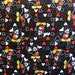 Disney Mickey Mouse Head to Head 100 Percent Cotton Fabric By The Full Yard 5502
