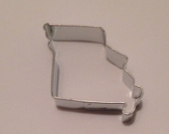 "3"" State of Missouri Cookie Cutter"