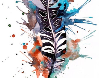 "Art Print ""feather"""