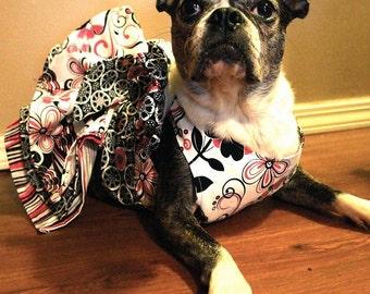 Dog dress - Dog clothes The Trixie Rox Designs Ruffle Dress