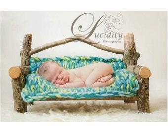 Newborn Log Bench Prop
