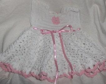 crochet dress, crochet summer dress, baby dress, babyshower dress, baby crochet