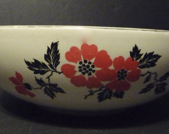 Final clearance~ Hall's Poppy Bowl ~made in U.S.A.