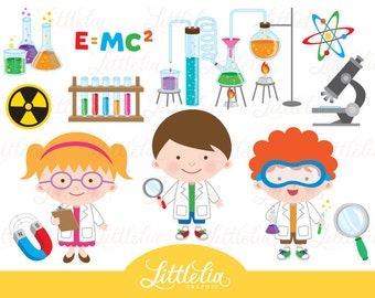 Science clipart - scientist clipart - 15044