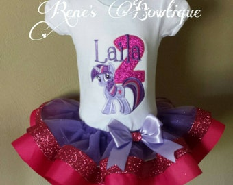 Twilight Sparkle My Little Pony Tutu Set