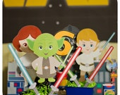 Star Wars Centerpieces; Star Wars Birthday Centerpieces; Star Wars decor; Star Wars Party; Star Wars Birthday Party Decor