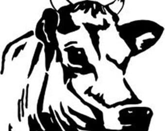 Cow Decal / Farm Decal