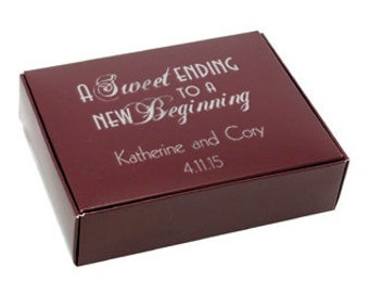 Favor / Cake Boxes~50 Personalized